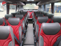 interior of coach hire birmingham