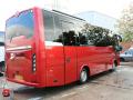 luxury coach hire minibus hire exterior tour