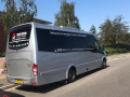 luxury minibus hire with a driver