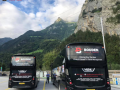 coach hire with a driver for a international tour