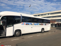 corporate event coach hire with a driver