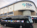 luxury coach to hire for sports team fixtures