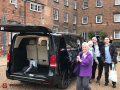 mpv hire with a driver for wedding