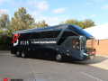 36 seat luxury team coach hire with a driver