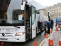 christmas temp coach hire