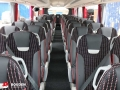 interior of 50 seater coach to hire in birmingham for an event