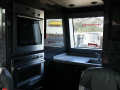 luxury coach hire with kitchen