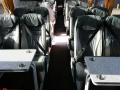 luxury coach hire with tables birmingham