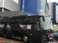 luxury group coach hire with a driver