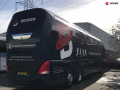 luxury sports team coach to hire with driver