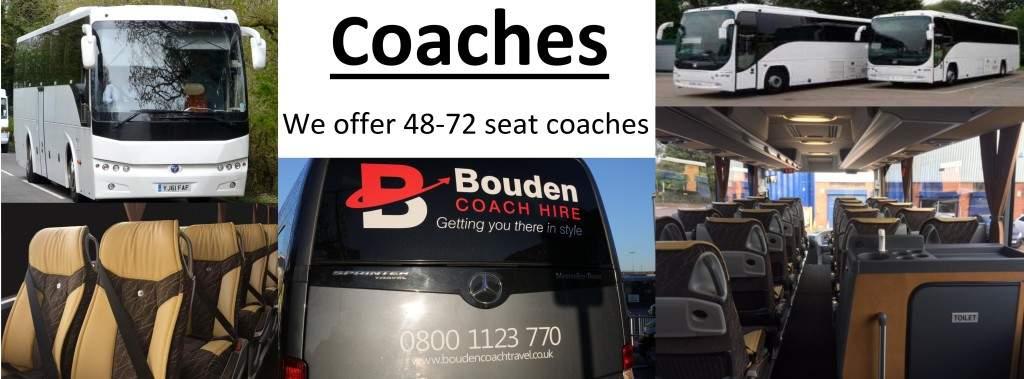 Luxury Coaches 48-72 seater