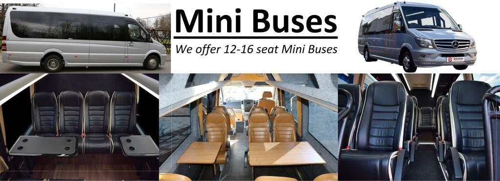 Luxury Mini buses 12-16 seat