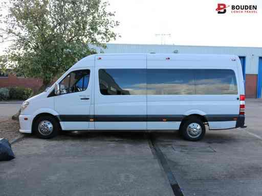 bouden coach travel minibus hire personnel transport