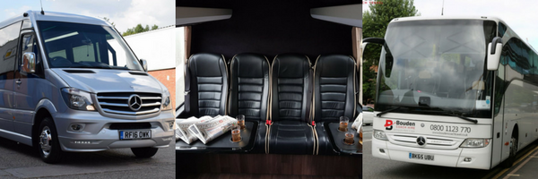 take a trip on our luxury minibus and coach for Cheltenham Festival