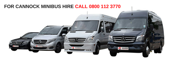 cannock minibus hire
