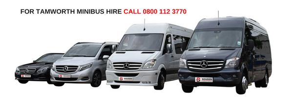tamworth minibus hire