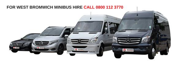 west bromwich minibus hire
