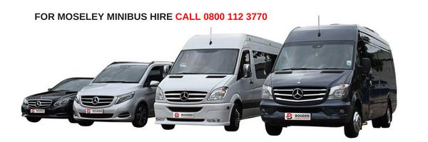 moseley minibus hire