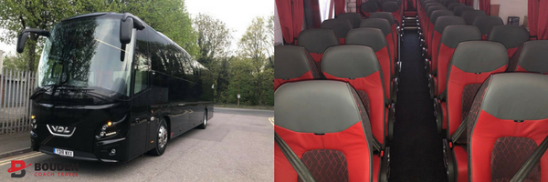 luxury coach hire Birmingham