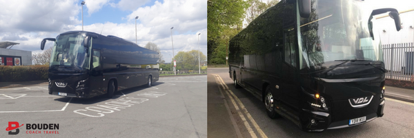 coach hire Birmingham luxury