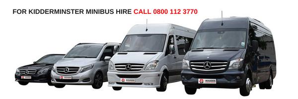 kidderminster minibus hire
