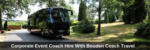 corporate event coach hire