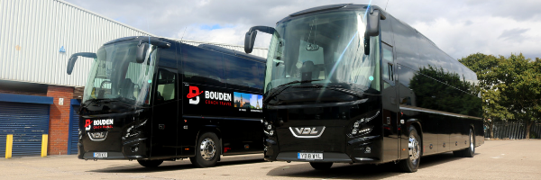 2 Bouden coaches for hire