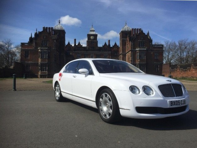 Bentley Flying Spur rental for birthdays, weddings and special occasions