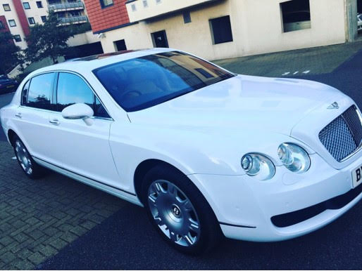 Bentley Luxury Car with Chauffeur for Special Occasions