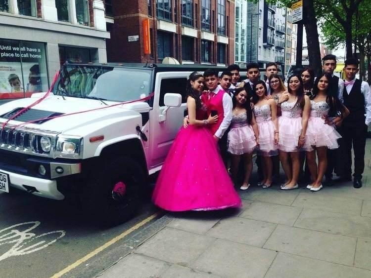 Luxury Stretch Hummer Rental for Weddings