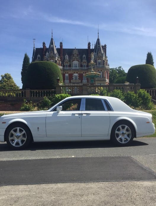 Rolls Royce Phantom Car with Chauffeur for Special Occasions