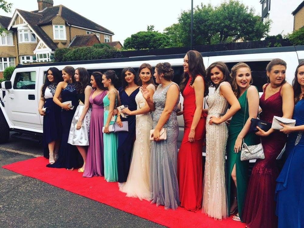 hummer limosine service for weddings, prom and birthday party